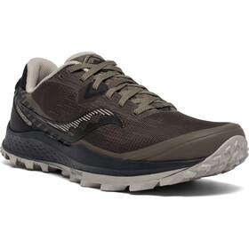saucony Peregrine 11 Shoes Men gravel/black